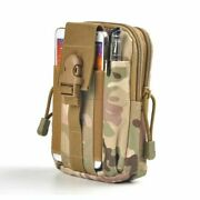 Men Tactical Military Waist Bag Nylon Molle Pouch Waterproof Hunting Fanny Pack