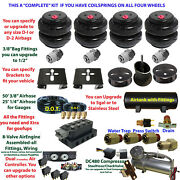 B Fbs-merc02-3 Mercedes Plug And Play Fbss Complete Air Suspension S