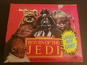 Star Wars Andldquoreturn Of The Jediandrdquo Unopened Candy Heads Containers By Topps. Vintage
