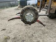 Artic Trailer Axle Drum Brakes On Springs With Hydraulic Brake Rams