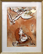 Marc Chagall The Soubrette De Israandeumll Lithographie
