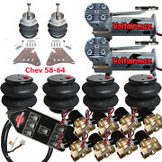 V Air Suspension 3/8 Valve 7 Switch Pewter 1958 Chevy Impala