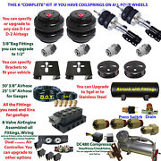 Air Suspension Complete Kit With Onboard Control For 2004-2006 Toyota Sienna Awd