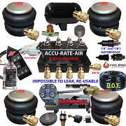 B Accu-rate-air Suspension -complete Coil Front/rear See Full Descrip Shown
