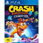 Crash Bandicoot 4 Its About Time Ps4 Playstation 4 Brand New Sealed