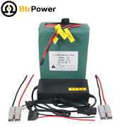 48v 10ah Lithium Lifepo4 Rechargeable Battery Pack For Ebike With Charger Bms