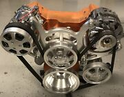 Serpentine Engine Accessory Drive System For Small Block Chevy