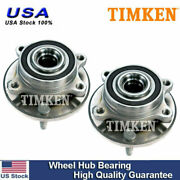 Front Wheel Hub And Bearing Left And Right Pair Set For Ford Taurus Flex Mks Mkt