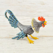 Rooster Alebrije Oaxacan Wood Carving A2139   Magia Mexica