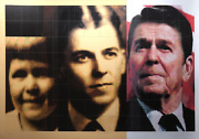 Carlos Irizarry President Ronald Reagan Screenprint Signed Titled And Number
