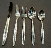 55 Pcs --- Place Settings For 8 Towle Candleglow Silverplate Flatware Exc Minty