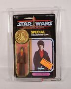 Star Wars Potf Imperial Dignitary Action Figure Kenner 1985 Moc Afa 85 Y