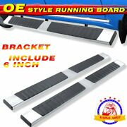 For 05-21 Nissan Frontier Crew Cab 6 Running Board Side Bar Side Step S/s H