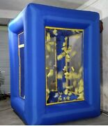 9ft Inflatable Cash Cube Money Machine Advertising Promotion With Blowers Bi