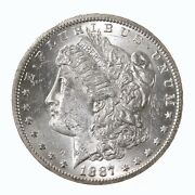 Raw 1887-s Morgan 1 Uncertified Ungraded San Francisco Mint Silver Dollar Coin
