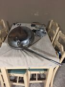 Antique Vintage Dual Gong Rotary Bell