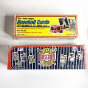 Baseball Cards Tops 1995 Series 1 - 2 And Upper Deck 1992 Full Set - New Sealed
