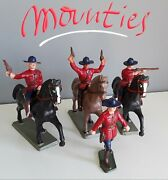 Mounted Police , Police Montée, Canada, By Starlux Of France 1970's Years
