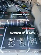 Weider Xrs 20 Olympic Squat Rack With Adjustable Safety Spotters And Bar Holds Andhellip
