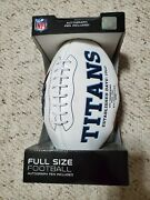 Jake Locker Full Sized Collectible Football Tennessee Titans W/autograph