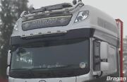 To Fit Mitsubishi Fuso Super Great Truck Stainless Roof Light Bar + Leds -type B