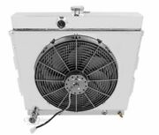 Signet 22 Core Radiator Bundle W Aluminum Fan Shroud And 16 Fan 1635