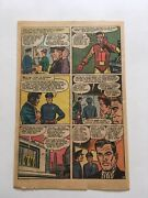 Tales Of Suspense 48original 1963 Single Page Only 11 New Ironman Costume