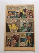 Tales Of Suspense 48original 1963 Single Page Only 12/13 New Ironman Costume