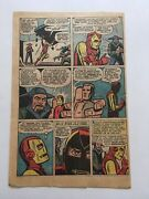 Tales Of Suspense 48original 1963 Single Page Only 14 New Ironman Costume