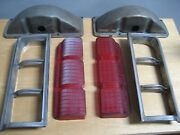 2 Vintage Guide 3z 1964 Oldsmobile Rh And Lh Tail Light Housing Used Pair A
