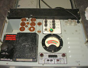 Us Navy Usm-118a Cardmatic Tube Tester For Parts Or Repair