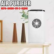 Air Purifier Cleaner Filter Led Sanitize Hepa+anion+uv-c+ozone.
