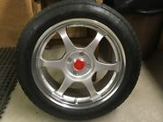 Original Ssr Comp Type C 4x100 6andrdquo Wheels With Continental Extreme Contact Tires