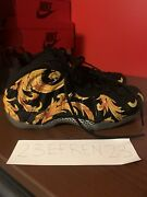 Nike Air Foamposite 1 Supreme Sp Black Size 11 Used Red Doernbecher Galaxy Royal