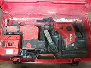 Hilti Te 7a Cordless Rotary Hammer Drill W/ Te Drs-m, Charger, Case - No Battery