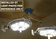 Double Satellie Ceiling Euro Led Ot Light Cold Operation Theater Shadowless Lamp