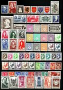 France 1944 Annandeacutee Complandegravete 70 Timbres Neufs ★★ Luxe / Mnh
