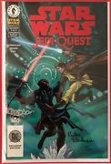 Star Wars Jedi Quest 2001 1 - Dynamic Forces Signed Comic Book - Sandn - Dhc