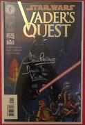Star Wars Vader Quest 1 - Dynamic Comics Variant Sandn David Prowse In Silver