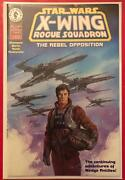Star Wars X-wing Rogue Squadron 1995 1 - Signed Dynamic Forces Comic And Coa