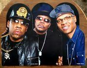 Game Used Bell Biv Devoe Cutouts From Fenway Park Boston Red Sox Mlb Scarce Rare