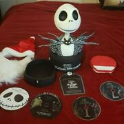 The Nightmare Before Christmas Statue Ultimate Collectors Set Rare Dvd, 2008