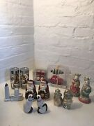 Salt And Pepper Shakers Lot Of 8