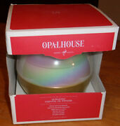 Opalhouse Ultrasonic Color-changing Essential Oil Diffuser -white/gold - New