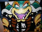 Super Smash Brothers Bowser Tournament 1st Place Trophy Art By Max Webster