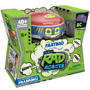 Remote Control Really Rad Robots - Fartbro Playset Toy Xmas Gift For Kidand039s R1