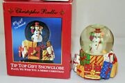 Christopher Radko Musical Snowglobe We Wish You A Merry Christmas Sold Out