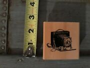 Old Fashioned Camera Rubber Stamp By Anitaand039s 1999 Vintage
