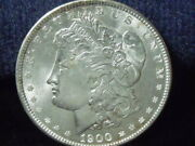 1900 Morgan Silver Dollar Bu Details Nice Coin Load Of Mint Luster D-292