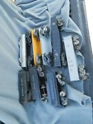 Vintage Tin/metal Lionel And Marx Train Cars Lot Of 8 Parts Estate Find